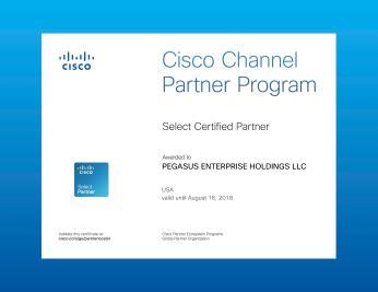 Cisco Select Certificate