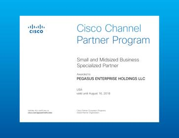 Cisco SMB Specialty